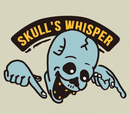 Skull's Whisper / Drawing Retro Logo