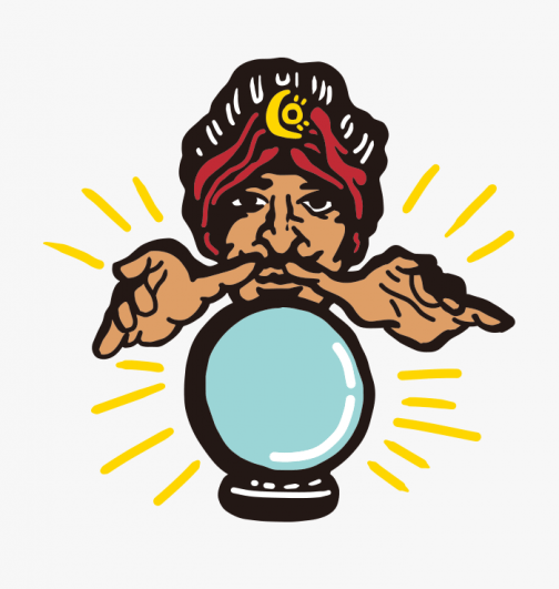 A fortune teller to guess the future