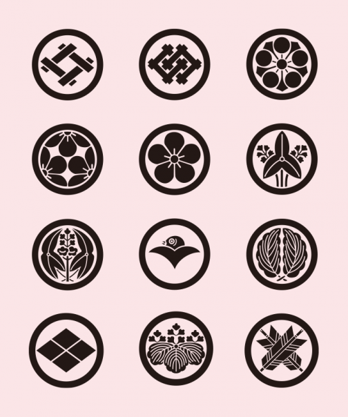 Family Crests of Japan 03 / Drawing