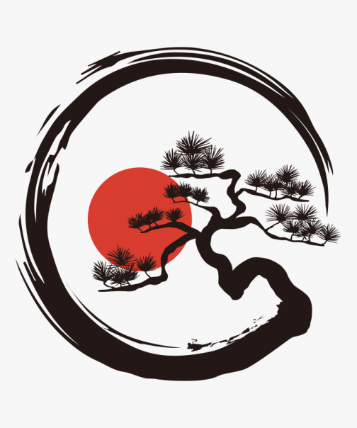 Pine tree / Japan / logo