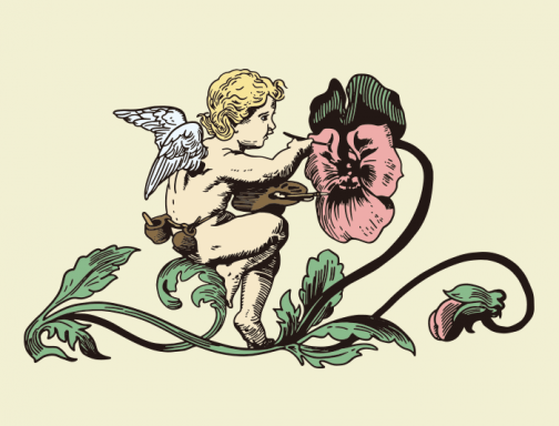 Angel / Cupid / Drawing