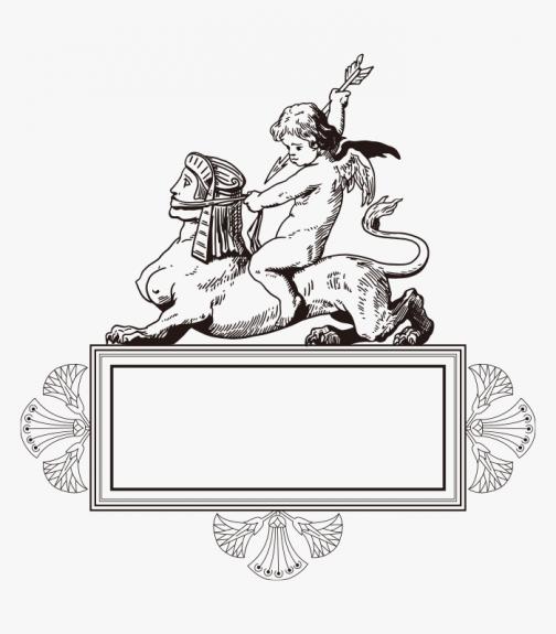 Angel / Cupid / Lion / Drawing