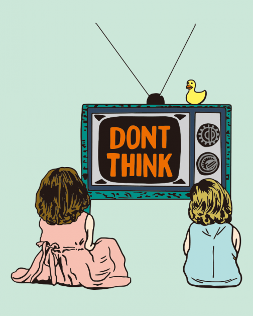 Brainwashing - Don't Think - drawing