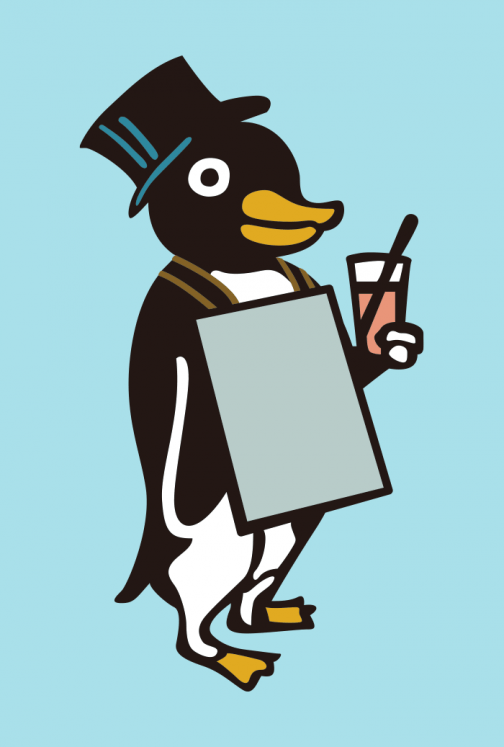 Penguin - character drawing
