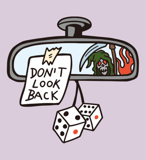 Don't Look Back - drawing
