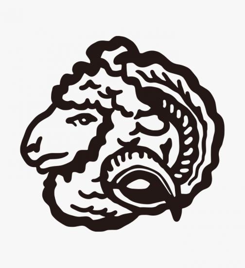Sheep logo - drawing