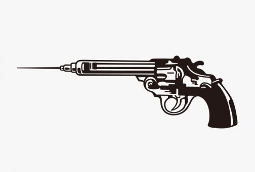 Vaccine / Gun Symbol design